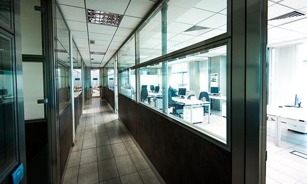 Ufficio Teken visto dall'interno